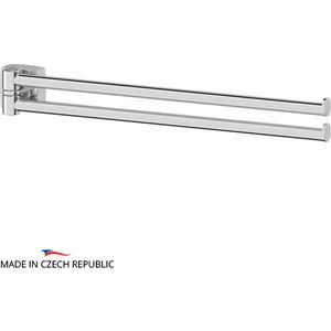 Полотенцедержатель поворотный FBS Esperado двойной 37 см, хром (ESP 044) полотенцедержатель двойной поворотный 37 см raiber r70126