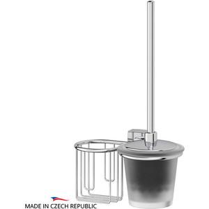 Ершик для унитаза FBS Esperado с держателем освежителя, хром (ESP 058)