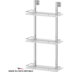 Полка стеклянная FBS Esperado 3-х ярусная 30 см, хром (ESP 067)