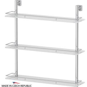 Полка стеклянная FBS Esperado 3-х ярусная 60 см, хром (ESP 070)