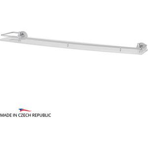 Полка стеклянная FBS Vizovice 70 см, хром (VIZ 017)