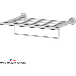 цены на Полка для полотенец FBS Vizovice 40 см, хром (VIZ 040)  в интернет-магазинах
