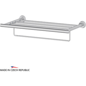 Полка для полотенец FBS Vizovice 50 см, хром (VIZ 041)
