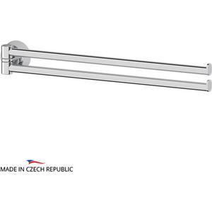 Полотенцедержатель поворотный FBS Vizovice двойной 37 см, хром (VIZ 044)