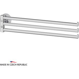 Полотенцедержатель поворотный FBS Vizovice тройной 37 см, хром (VIZ 045) fbs vizovice viz 030 полотенцедержатель 40 см
