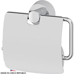 Держатель туалетной бумаги с крышкой FBS Vizovice хром (VIZ 055) держатель туалетной бумаги с крышкой fbs nostalgy хром nos 055