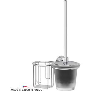 Ершик для унитаза FBS Vizovice с держателем освежителя, хром (VIZ 058)