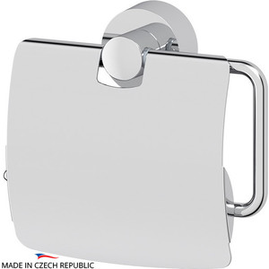 Держатель туалетной бумаги с крышкой FBS Nostalgy хром (NOS 055) держатель туалетной бумаги с крышкой fbs nostalgy хром nos 055