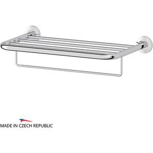 Полка для полотенец FBS Standard 50 см, хром (STA 041) полка для полотенец 70 см fbs standard хром sta 043