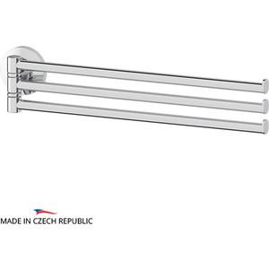 Держатель полотенец поворотный тройной 37 см FBS Standard хром (STA 045) держатель полотенец поворотный тройной 37 см fbs esperado хром esp 045