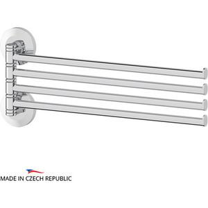 Полотенцедержатель поворотный FBS Standard четверной 37 см, хром (STA 046)
