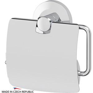 Держатель туалетной бумаги FBS Standard с крышкой, хром (STA 055)