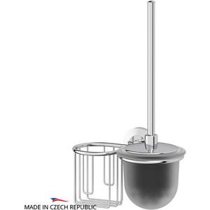 Ершик для унитаза FBS Standard с держателем освежителя, хром (STA 058)