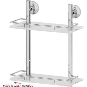 Полка стеклянная FBS Standard 2-х ярусная 30 см, хром (STA 062)