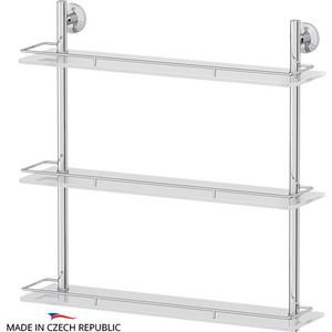 Полка стеклянная FBS Standard 3-х ярусная 60 см, хром (STA 070)