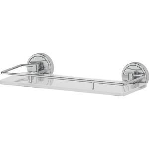Полка стеклянная FBS Luxia 30 см, хром (LUX 013)