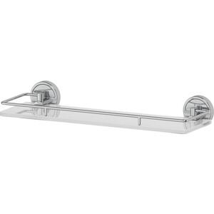 Полка стеклянная FBS Luxia 40 см, хром (LUX 014)