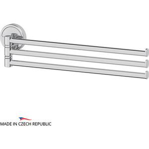 Полотенцедержатель поворотный FBS Luxia тройной 37 см, хром (LUX 045)