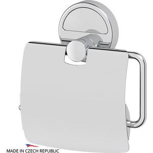 Держатель туалетной бумаги FBS Luxia с крышкой, хром (LUX 055)