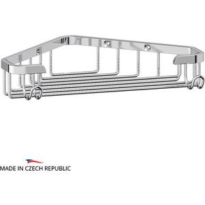 Мыльница-решетка FBS Ryna угловая 18 см, хром (RYN 001) цена