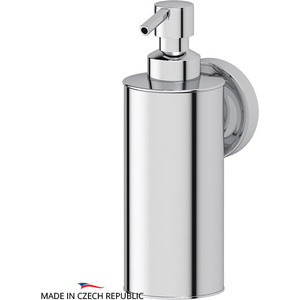 Емкость для жидкого мыла металлическая Ellux Elegance хром (ELE 010) емкость для жидкого мыла с помпой ellux ellux матовый хрусталь elu 004
