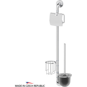 Стойка для туалета Ellux Elegance хром (ELE 075) цена и фото