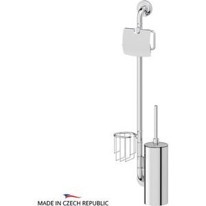 Стойка для туалета Ellux Elegance хром (ELE 078) стойка напольная для туалета fabio хром