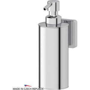 Емкость для жидкого мыла металлическая Ellux Avantgarde хром (AVA 010) емкость для жидкого мыла с помпой ellux ellux матовый хрусталь elu 004