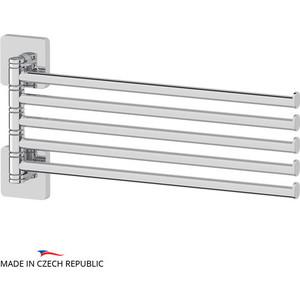 Полотенцедержатель поворотный Ellux Avantgarde пятерной 37 см, хром (AVA 019)