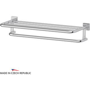 Полка для полотенец Ellux Avantgarde 70 см, хром (AVA 031)
