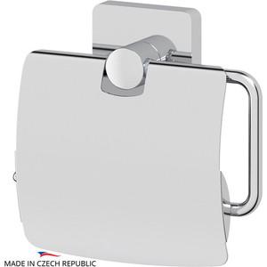 Держатель туалетной бумаги Ellux Avantgarde с крышкой, хром (AVA 066)