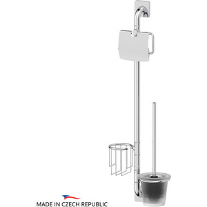 Стойка для туалета Ellux Avantgarde хром (AVA 075)