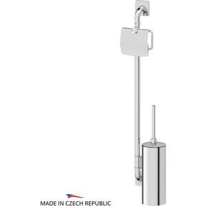 Стойка для туалета Ellux Avantgarde хром (AVA 077) стойка напольная для туалета fabio хром