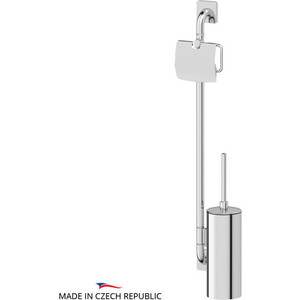 Стойка для туалета Ellux Avantgarde хром (AVA 077)