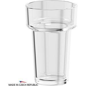 Стакан Ellux Ellux хрусталь (ELU 001) емкость для жидкого мыла с помпой ellux ellux матовый хрусталь elu 004
