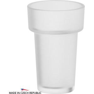 Стакан Ellux Ellux матовый хрусталь (ELU 002) емкость для жидкого мыла с помпой ellux ellux матовый хрусталь elu 004