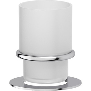 Стакан для ванны Artwelle Universell хром (AWE 001) дозатор жидкого мыла настольный artwelle universell awe 006