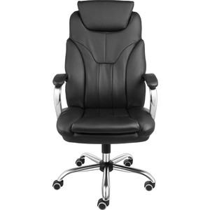 Кресло Алвест AV 117 СН (04) CX экокожа 223 черная