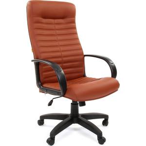 Офисное кресло Chairman 480 LT к/з Terra 111 коричнеый цена