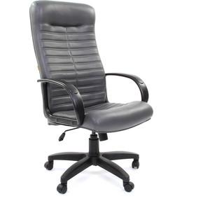 Офисное кресло Chairman 480 LT экокожа 117 серый