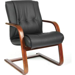 Офисное кресло Chairman 653V черная кожа офисное кресло chairman 436 россия кожа черная