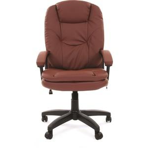 все цены на Офисное кресло Chairman 668 LT экопремиум коричневый онлайн
