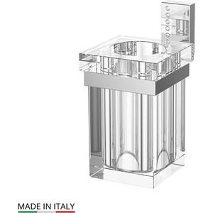 Стакан для ванны Lineag Tiffany Lux хром - стразы (TIF 904)