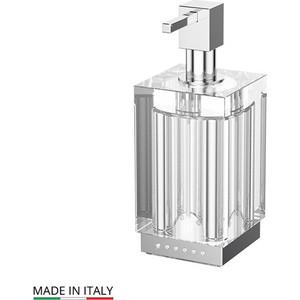 Дозатор для жидкого мыла Lineag Tiffany Lux UN хром - стразы (TIF 918)