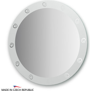 Зеркало FBS Artistica D80 см, с орнаментом - галактика (CZ 0710) фото