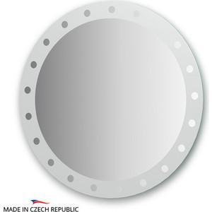 Зеркало FBS Artistica D80 см, с орнаментом - жемчуг (CZ 0715) стол mariott d80 х 74 см