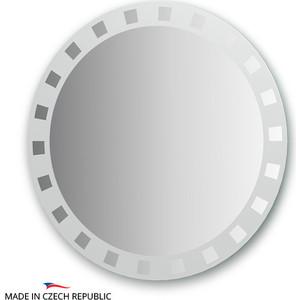 Зеркало FBS Artistica D80 см, с орнаментом - квадро (CZ 0740) стол mariott d80 х 74 см