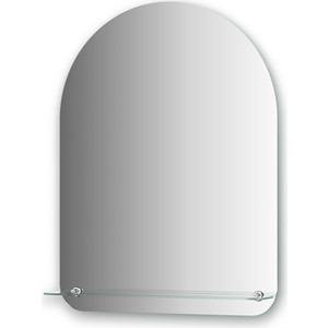 Зеркало Evoform Optima 60х80 см, с полочкой 60 см (BY 0513) зеркало evoform optima 40х50 см с полочкой 40 см by 0507
