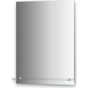 Зеркало Evoform Attractive 60х80 см, с фацетом 5 мм и полочкой 60 см (BY 0506)