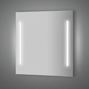Зеркало Evoform Lumline 70х75 см, с 2-мя встроенными LUM- светильниками 40 W (BY 2016) зеркало evoform ledline 70х75 см с 2 мя встроенными led светильниками 10 5 w by 2116